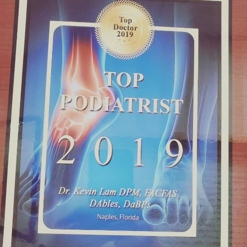 Dr Kevin Lam Top Podiatrist
